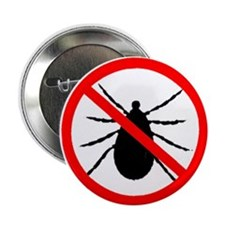 "No Ticks 2.25"" Button"