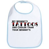 Mommy's Tattoos (Red) Bib