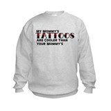 Mommy's Tattoos (Red) Sweatshirt