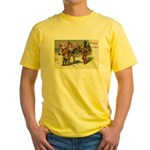 Irish Christmas Yellow T-Shirt