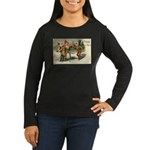 Irish Christmas Women's Long Sleeve Dark T-Shirt
