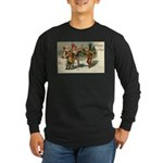 Irish Christmas Long Sleeve Dark T-Shirt