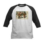 Irish Christmas Kids Baseball Jersey