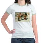 Irish Christmas Jr. Ringer T-Shirt