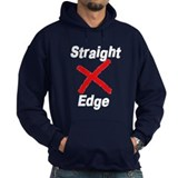 """Straight Edge"" Hoody"