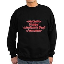 """Happy Valentine's Day"" Sweatshirt"