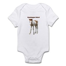 Assateague Island Foal Infant Bodysuit