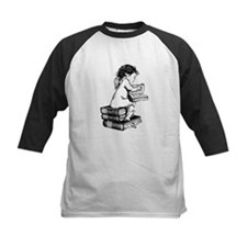 Cherub on Books Tee