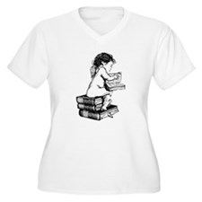 Cherub on Books T-Shirt