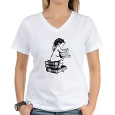 Cherub on Books Shirt