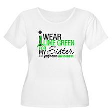 I Wear Lime Green For Sister T-Shirt