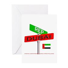 REP DUBAI Greeting Cards (Pk of 10)