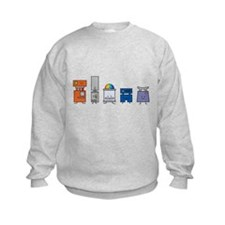 Happy Robots Sweatshirt