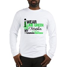 I Wear Lime Green MIL Long Sleeve T-Shirt