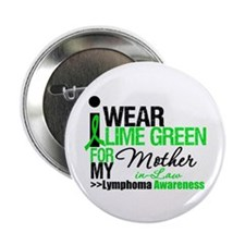 "I Wear Lime Green MIL 2.25"" Button (10 pack)"