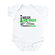 I Wear Lime Green For My Mom Infant Bodysuit