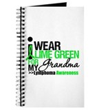 I Wear Lime Green Grandma Journal