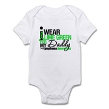 I Wear Lime Green For My Daddy Infant Bodysuit