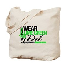 I Wear Lime Green For My Dad Tote Bag