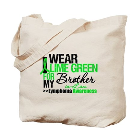 I Wear Lime Green BIL Tote Bag
