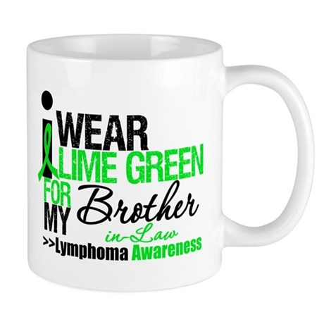 I Wear Lime Green BIL Mug