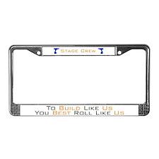 Back woods License Plate Frame