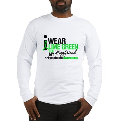 I Wear Lime Green Boyfriend Long Sleeve T-Shirt