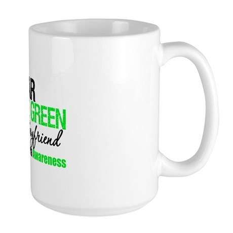 I Wear Lime Green Boyfriend Large Mug