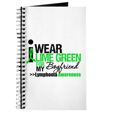I Wear Lime Green Boyfriend Journal