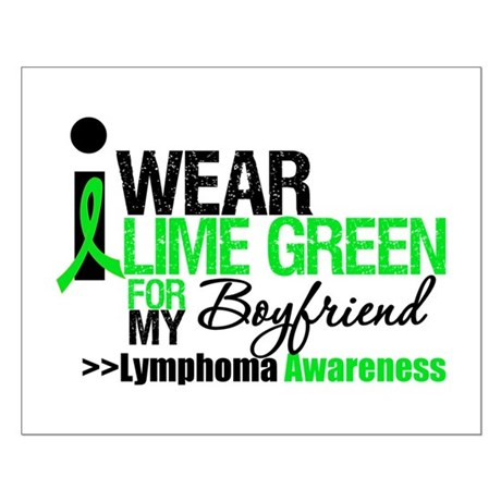 I Wear Lime Green Boyfriend Small Poster
