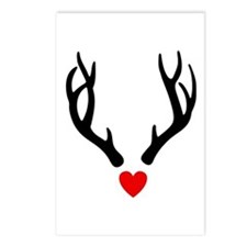Cute Whitetail deer Postcards (Package of 8)