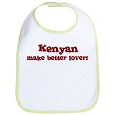 Kenyan Make Better Lovers Bib