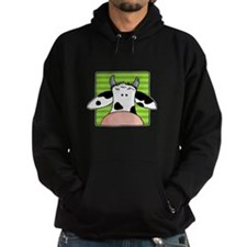 close up cow Hoodie