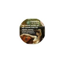 Antony and Cleopatra Mini Button (100 pack)