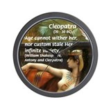 Antony and Cleopatra Wall Clock