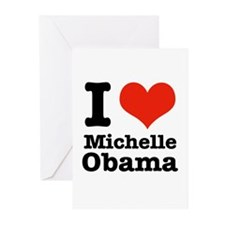 I love Michelle Obama Greeting Cards (Pk of 20)