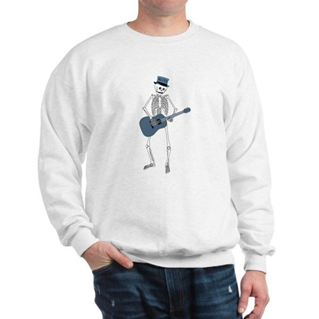 Bluesman Skeleton Sweatshirt