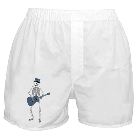 Bluesman Skeleton Boxer Shorts
