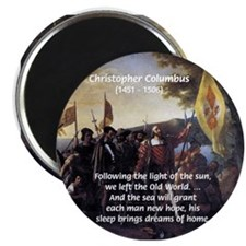 "Christopher Columbus 2.25"" Magnet (10 pack)"