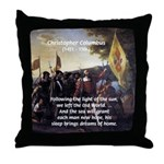 Christopher Columbus Throw Pillow