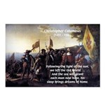 Christopher Columbus Postcards (Package of 8)