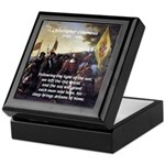 Christopher Columbus Keepsake Box