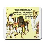 Eastern Thought: Confucius Mousepad