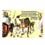 Eastern Thought: Confucius Postcards (Package of 8