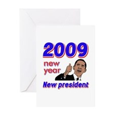 New year New President Greeting Card