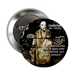 Confucius Button