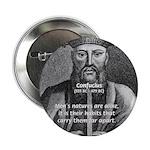 Eastern Wisdom: Confucius Button