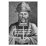 Eastern Wisdom: Confucius Large Poster