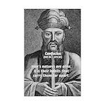 Eastern Wisdom: Confucius Mini Poster Print