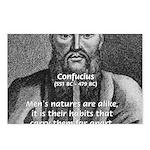 Eastern Wisdom: Confucius Postcards (Package of 8)